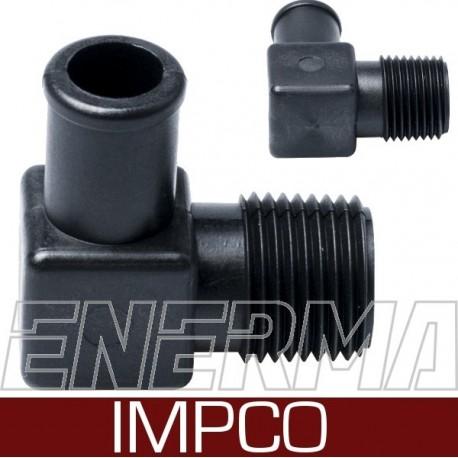 IMPCO 1/2-14NPT / 16mm - Kolanko reduktora, ,oryginalne