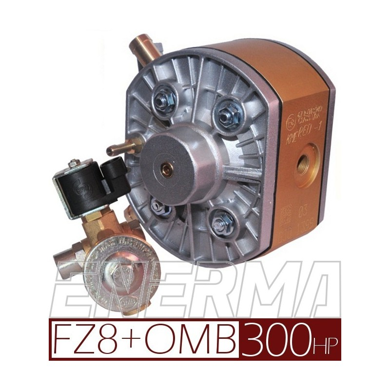 Reduktor KME Gold FZ8 + elektrozawór