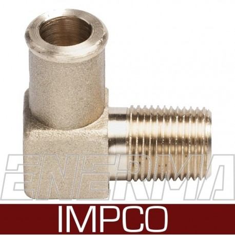IMPCO  3/8 / 16mm - Elbow for cobra reducer