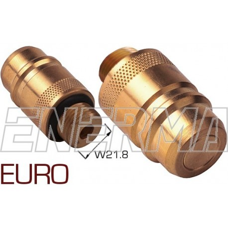 Gas filler adapter - Euro Connector   W21,8