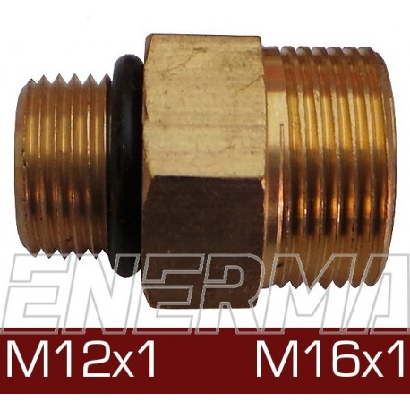 M12x1 / M16x1 reduction coupler