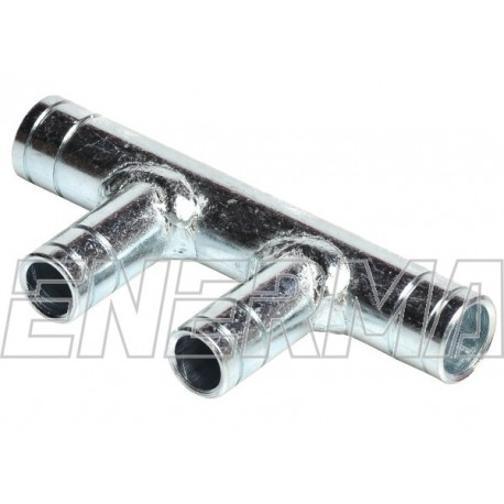 Set 4 cross type pipe connector 19/16/16/19