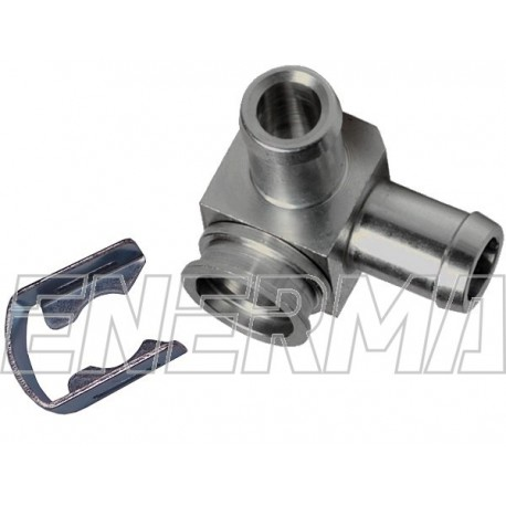 Adapter for injectror Hana/Barracuda -  90º / 90º  / 12mm