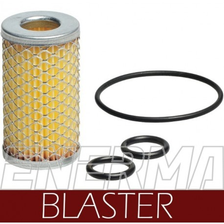 BLASTER paper / Filter cartridge with o-rings