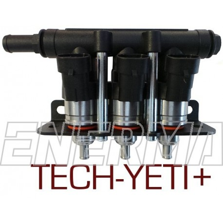 LPGTECH-YETI+ 3 cyl. injection rail