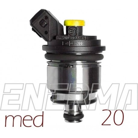 Landi Renzo MED 20 - yellow - 1cyl. Injector