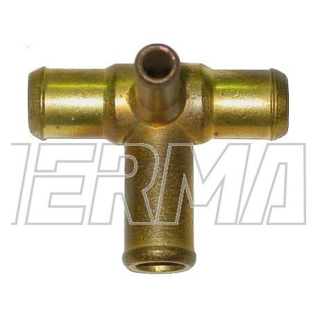 Brass pipe cross T 16/16/16/10
