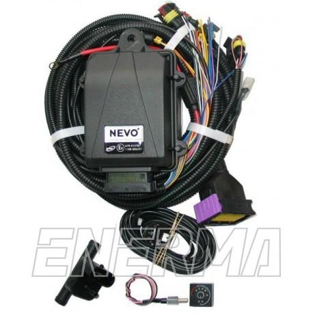 Wtrysk KME NEVO 4cyl. / elektronika + sensor wskazania