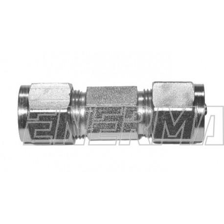 Złączka prosta rury PCV  8/8mm