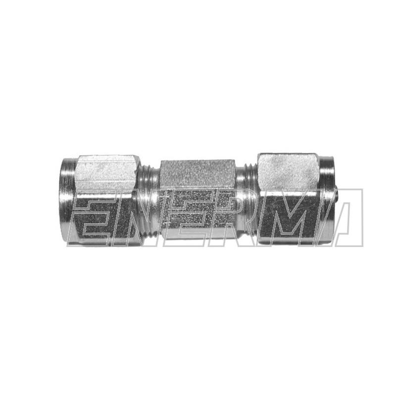 Złączka prosta rury PCV  6/6mm