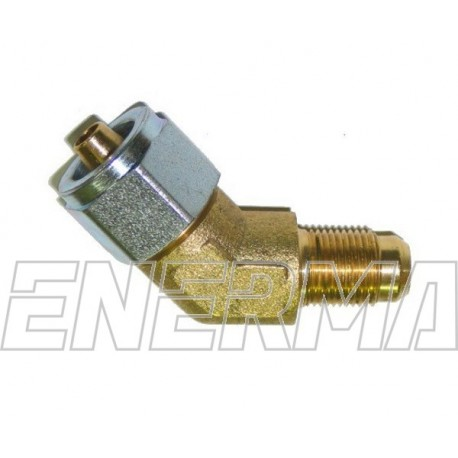 ø8mm 135º M12 elbow fitting