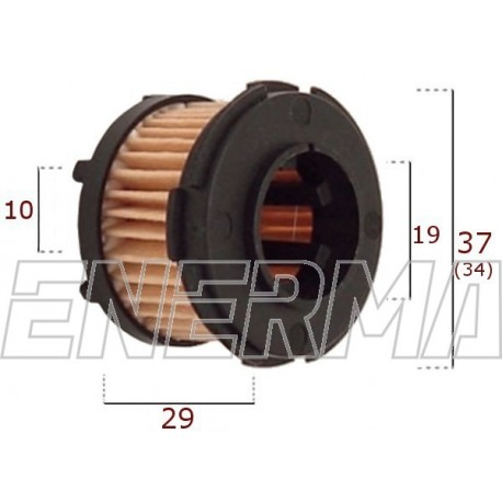 Filter / cartridge BRC 37/27  new type