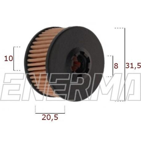Filter / cartridge Emmegas 31.5 / 20.5