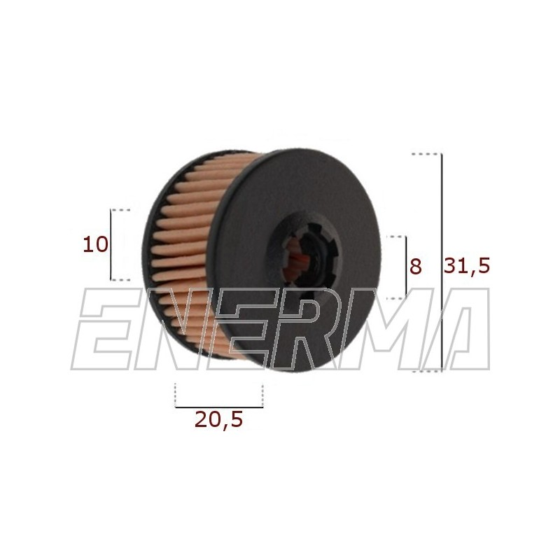 Filtr / wkład BRC 38/27/10 nowy typ