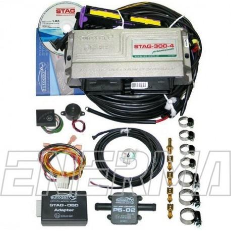Elektronika STAG300premium  4cyl.