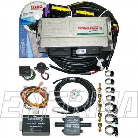 Zestaw STAG300premium  6cyl. elektronika